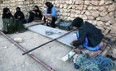 آشنایی با گلیم دستباف یکی از هنرهای زیبای مردم کردستان!
