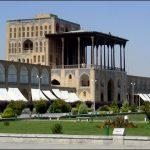 عالی قاپو از بناهای تاريخی و آثار باستانی شهر اصفهان!