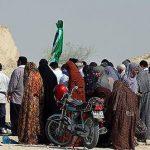 مراسم قبله دعا از رسم های مردم استان هرمزگان برای آمدن باران!!