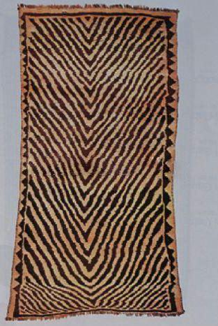 فرش های پوست پلنگی