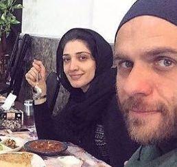 مینا ساداتی و همسرش بابک حمیدیان و عکسهایی از این زوج هنرمند!