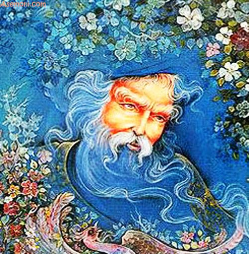 مولانا شاعر بزرگ ایرانی و شعر عید آمد و عید آمد!