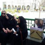 مراسم تشییع همسر افشین یداللهی!+تصاویر
