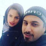 احسان خواجه امیری و عکسهایی از همسر و پسرش!