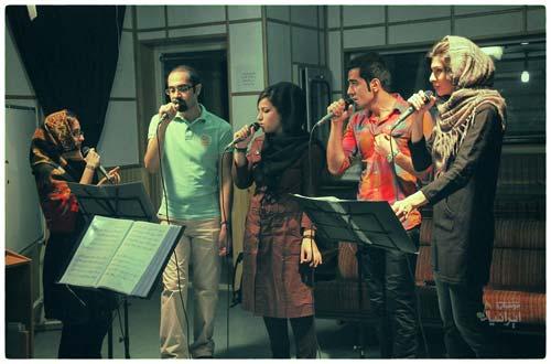 گروه آوازی دامور
