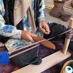 هنر نواربافی خراسان برای تزیین انواع پوشاک!+تصاویر