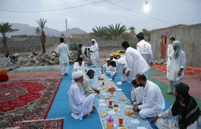 رسم مردم سیستان در ماه رمضان