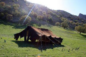 آشنایی با سیاه چادر بافی در خراسان جنوبی!