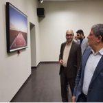 محسن هاشمی در بازدید از آثار بیش از 70 هنرمند برجسته!