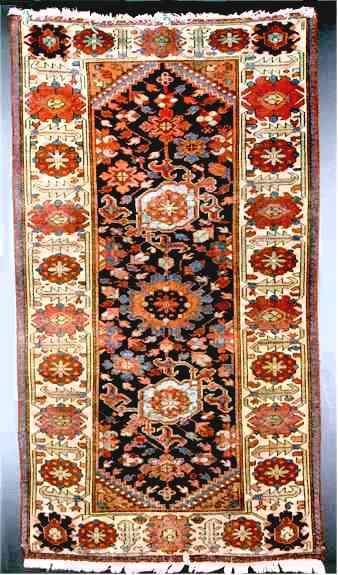 تنوع نقوش و طرح های فرش همدان!