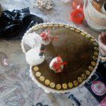 تزیین و آماده سازی حنا برای مراسم حنابندان در سوادکوه!
