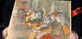 پیدا شدن نقاشی یک میلیون دلاری ادگار دگا در اتوبوس!
