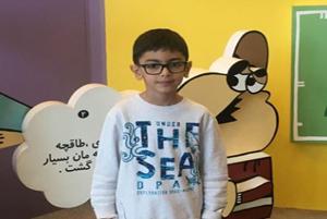 کتاب راستین فیاضی کوچکترین نویسنده کشورمان در نمایشگاه کتاب!