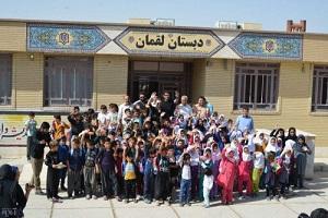 کامبیز دیرباز در آغاز سال تحصیلی جدید در کرمانشاه