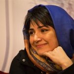 باران کوثری در اکران فیلم عرق سرد در شیراز