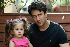 عکس با ناز و عشوه دخترِ شاهرخ استخری بازیگر ایرانی