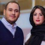 سالگرد ازدواج رضا داوود نژاد و همسرش غزل بدیعی