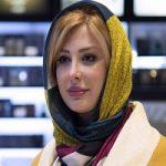 تیپ نیوشا ضیغمی در اکران فیلم هشتگ