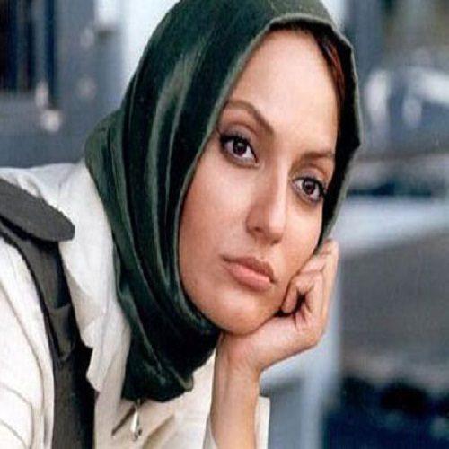 پرش مهناز افشار در پشت صحنه فیلم سینمایی قسم