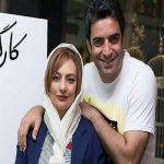 تصاویری از منوچهر هادی و همسرش در جشن شب یلدا