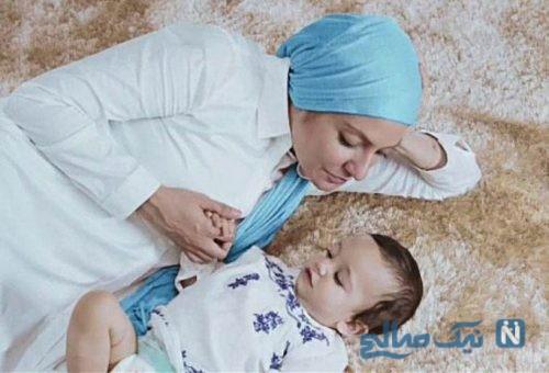 مهناز افشار و دخترش لیا