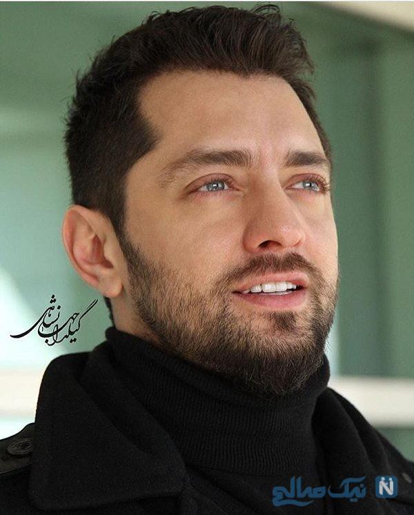 بهرام رادان بازیگر ایرانی زمانی که قرتی بود!