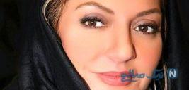 مهناز افشار بازیگر سینما در کنار شیطونکش