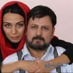 جلیل فرجاد و دخترش ۲۵ سال پیش در تئاتر شهر