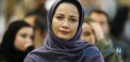 اشک های نسرین نصرتی در مراسم تشییع خشایار الوند