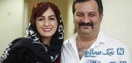 زوج معروف سینمای ایران با فرزندانشان