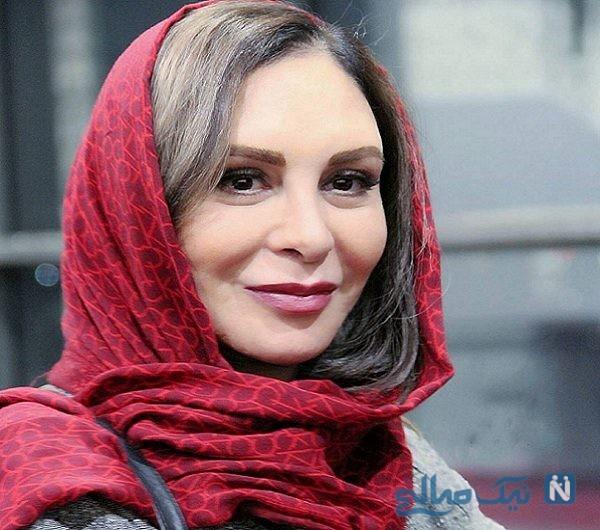 پوشش نامتعارف و سؤال برانگیز افسانه بایگان بازیگر سینمای ایران