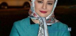 تصویری از استایل خاص مهراوه شریفی نیا در جشنواره جهانی فجر