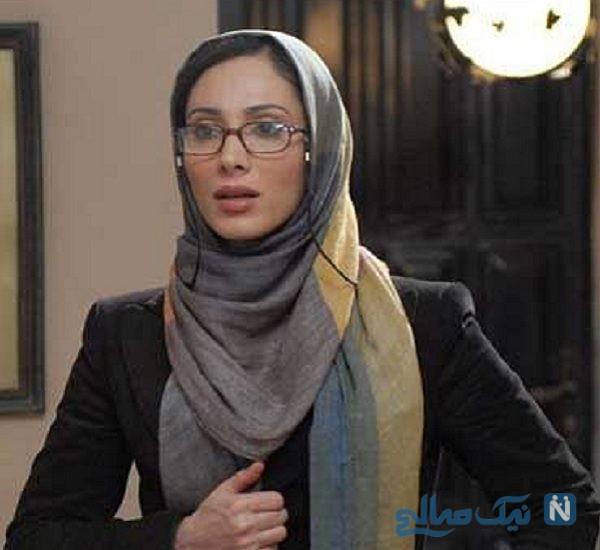 تصویری از تیپ متفاوت سحر زکریا در یک مراسم