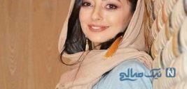 باز هم نفیسه روشن بازیگر ایرانی با حیوانات عجیب!