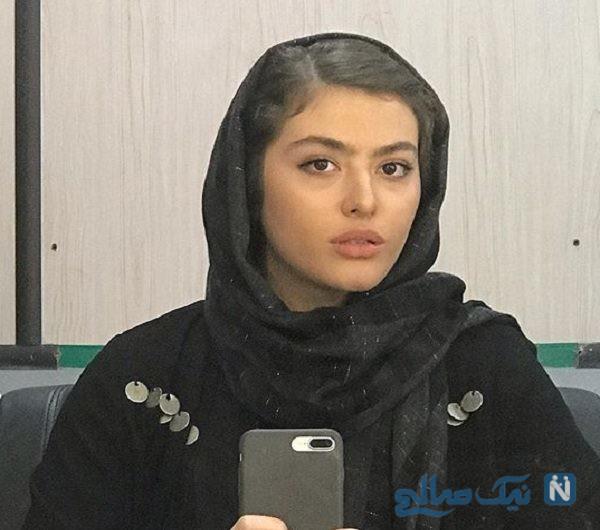 عینک عجیب ریحانه پارسا بازیگر زن پرحاشیه