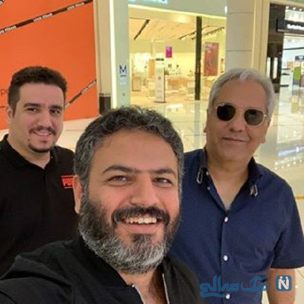 مهران مدیری در دبی