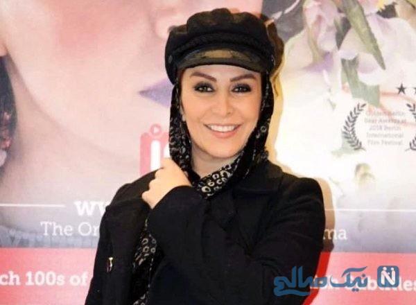 عید فطر ماه چهره خلیلی بازیگر ایرانی در لندن