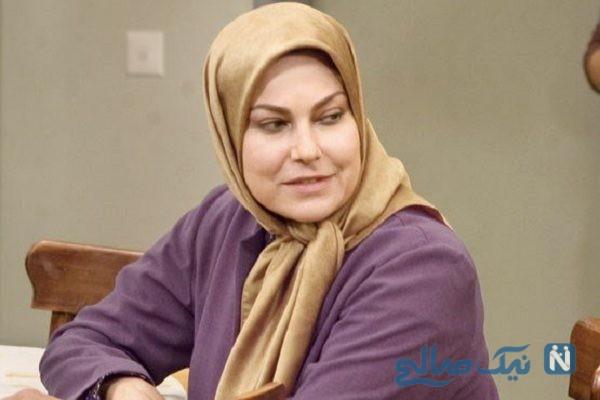 مهرانه مهین ترابی بازیگر مشهور در پشت صحنه سریال دل