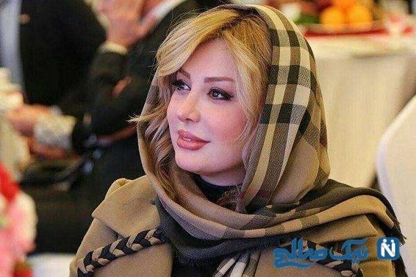 جشن تولد لاکچری نیوشا ضیغمی بازیگر سینمای ایران
