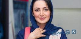 عکس شیلا خداداد هنرپیشه ایرانی روی جلد یک مجله انگلیسی
