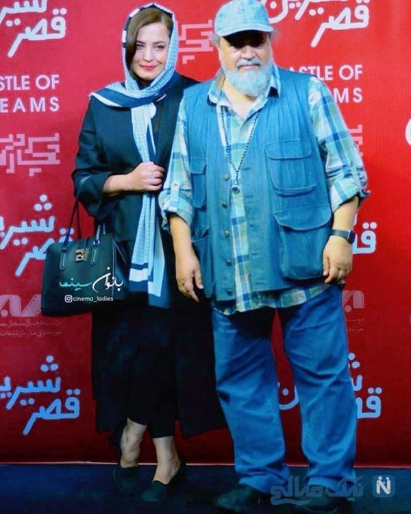 محمدرضا شریفی نیا و همسر سابقش