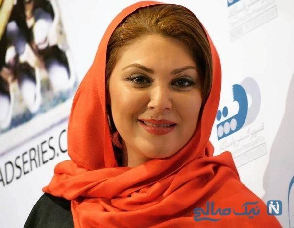 لاله اسکندری بازیگر ایرانی در حال هندوستان گردی