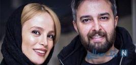دسته گل زیبای فرشته آلوسی بازیگر گاندو در شب خواستگاری + عکس