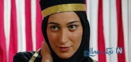 خانم بازیگر ایرانی در کنار دو قلوهایش