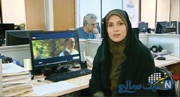 عکس های زیر خاکی از فریده فرخینژاد گوینده خبر مادر زهرا چخماقی مجری