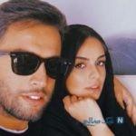 عکس جدید بنیامین بهادری و همسر و فرزندانش