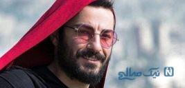 نوید محمدزاده در جشنواره ونیز با تیپی خاص و متفاوت + تصاویر و فیلم