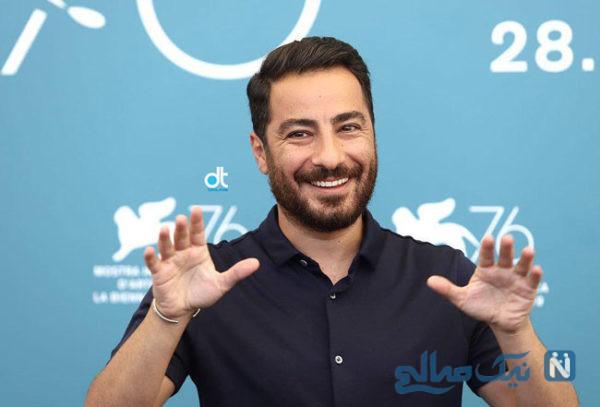 نوید محمدزاده در جشنواره ونیز