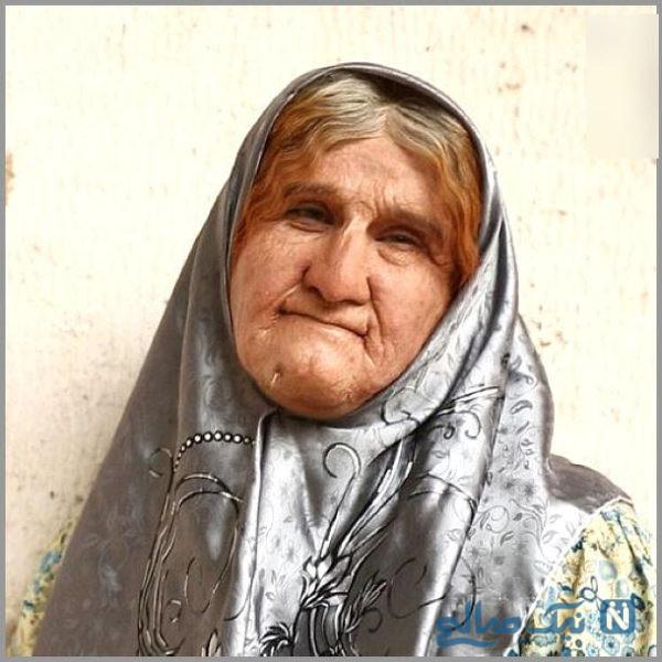 گریم عجیب محسن تنابنده