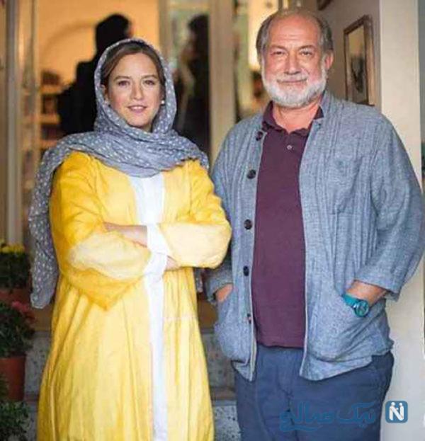 آتیلا پسیانی و همسرش